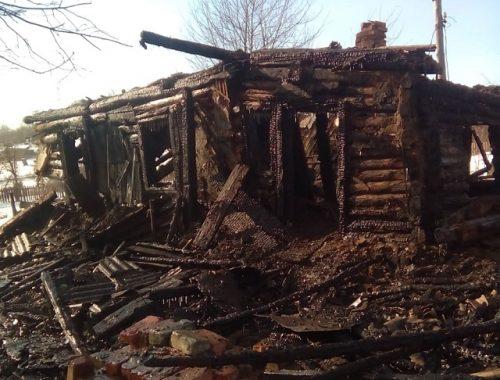 Страшный пожар унес жизнь жителя ЕАО