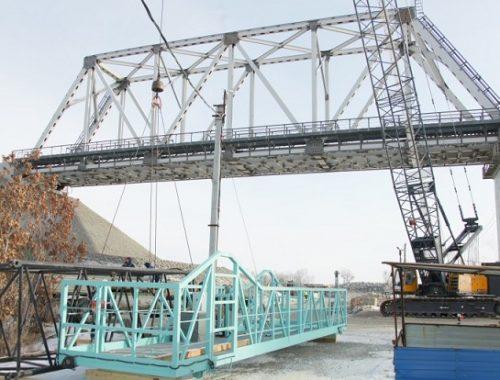 «Сваи забивали не так»: для строительства моста в Нижнеленинском требуется допфинансирование