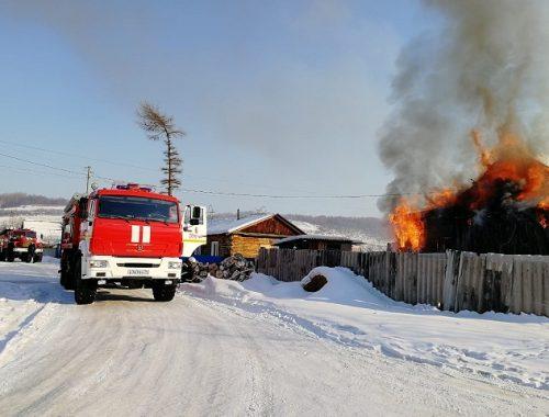 Во второй раз загорелся дом в ЕАО