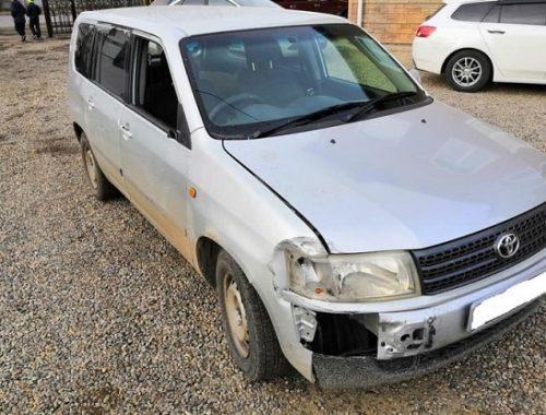 Пытался скрыться с места ДТП и сбил пешехода водитель в Биробиджане