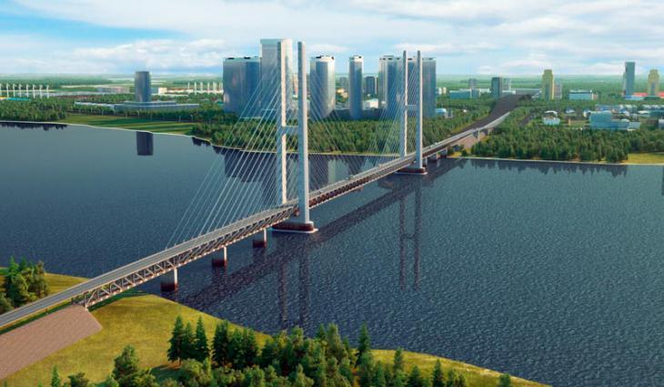 «Конкурент» нижнеленинскому мосту появится в Амурской области между Благовещенском и Хайхэ
