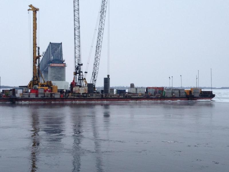 ИНОСМИ: $110 млн дополнительно выделено на строительство трансграничного моста в Нижнеленинском