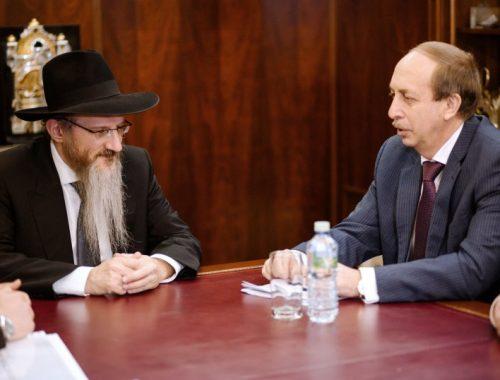 Александр Левинталь пригласил Берл Лазара в Биробиджан на фестиваль еврейской культуры