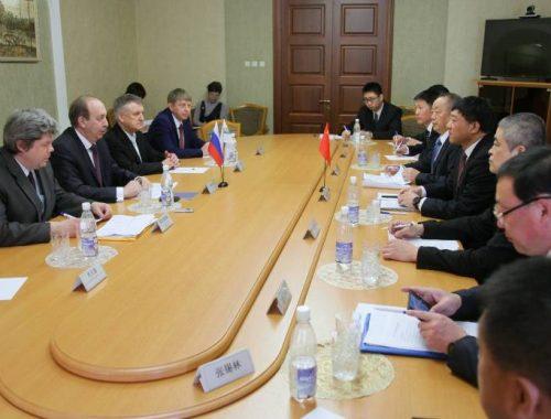 Губернатор ЕАО Александр Левинталь обсудил с китайской делегацией вопросы экономического сотрудничества