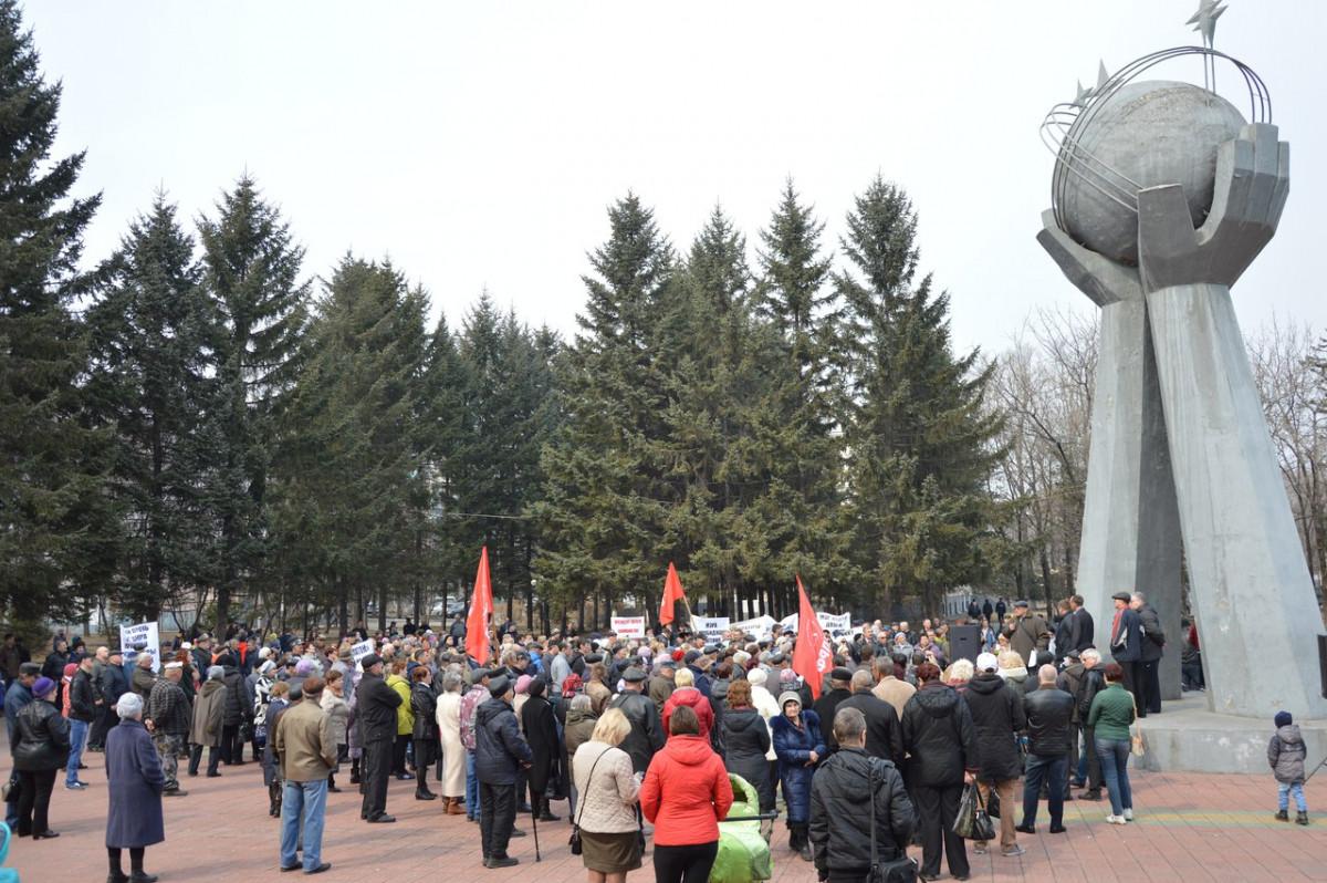 Если губернатор Левинталь нас не услышит, то 15 апреля мы будем требовать его отставки – участники митинга в Биробиджане