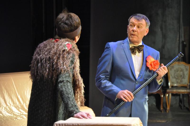 Премьерный бенефис двух актеров состоялся в Биробиджанской областной филармонии