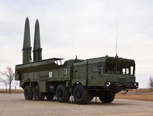 В ЕАО прошли учения с использованием ракетных комплексов «Искандер»