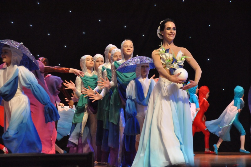В Биробиджане завершился V Межрегиональный фестиваль хореографического искусства «Вдохновение»