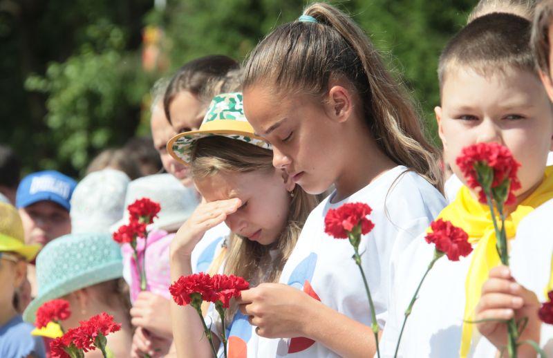 В Биробиджане почтили память павших в годы Великой Отечественной войны