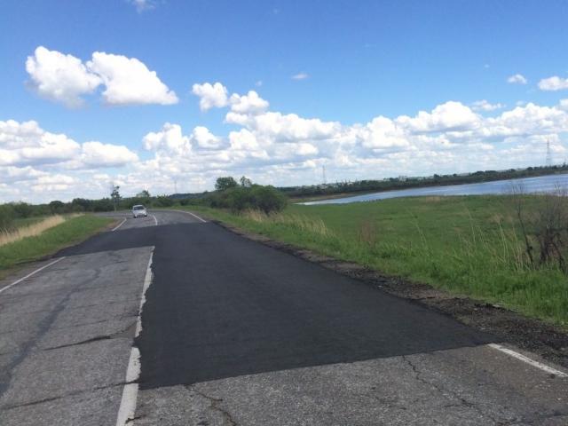 «Фронтовики» добились ремонта проблемного участка дороги в селе имени Тельмана