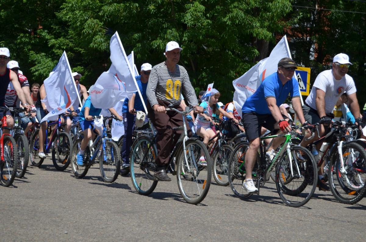 Велопарад «РОССИЯ, ВПЕРЕД!» пройдет в Биробиджане 10 июня