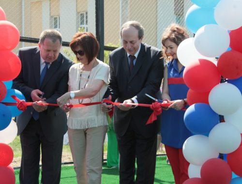 Три спортивные площадки в отдельно взятом селе ЕАО