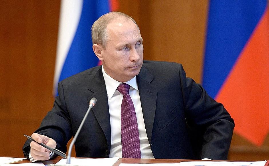 Путин отправится с рабочим визитом на Дальний Восток