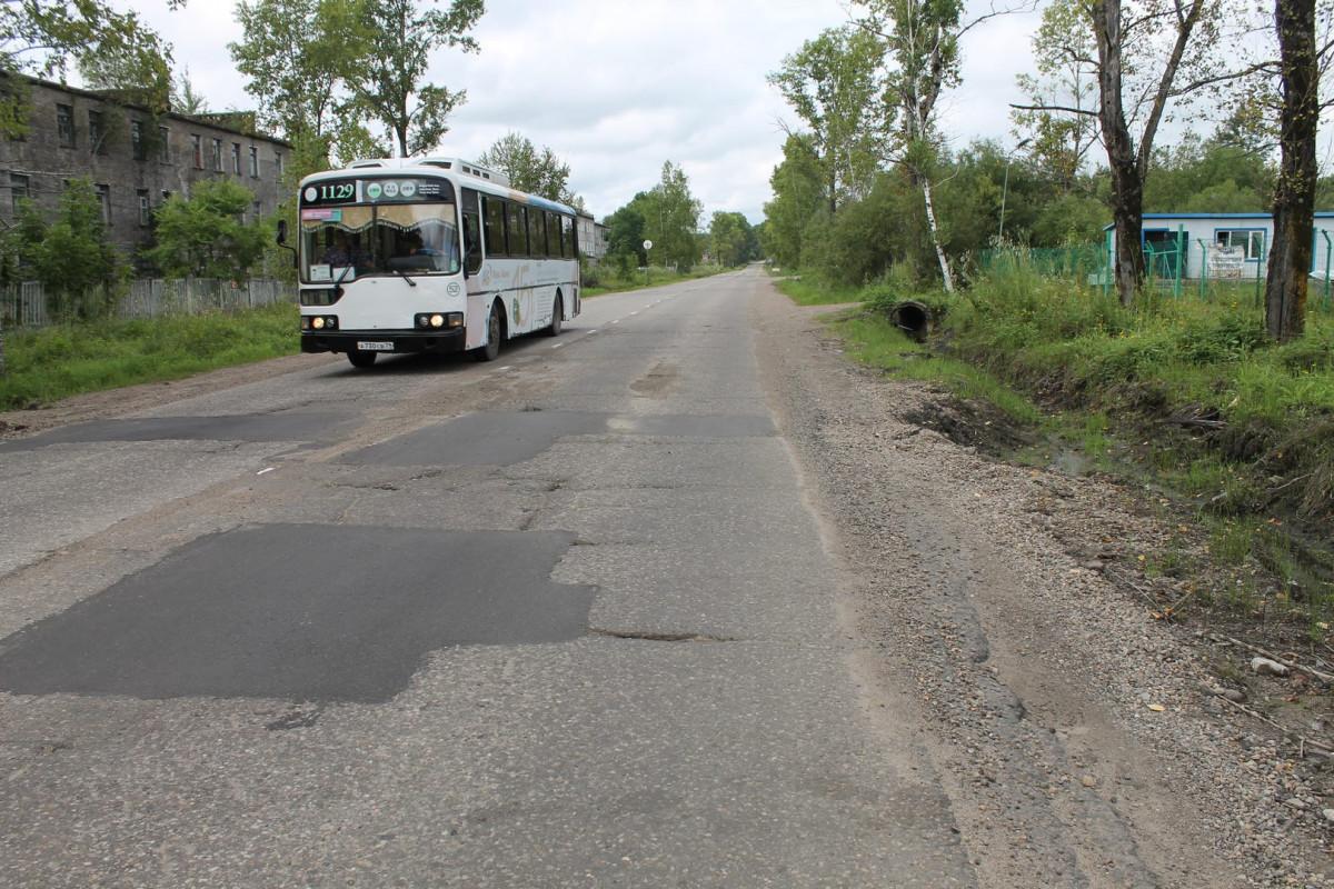 Ремонт дорог в Биробиджане как притча во языцех