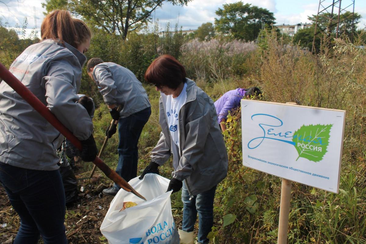 Активисты ОНФ в ЕАО приняли участие во Всероссийском экологическом субботнике