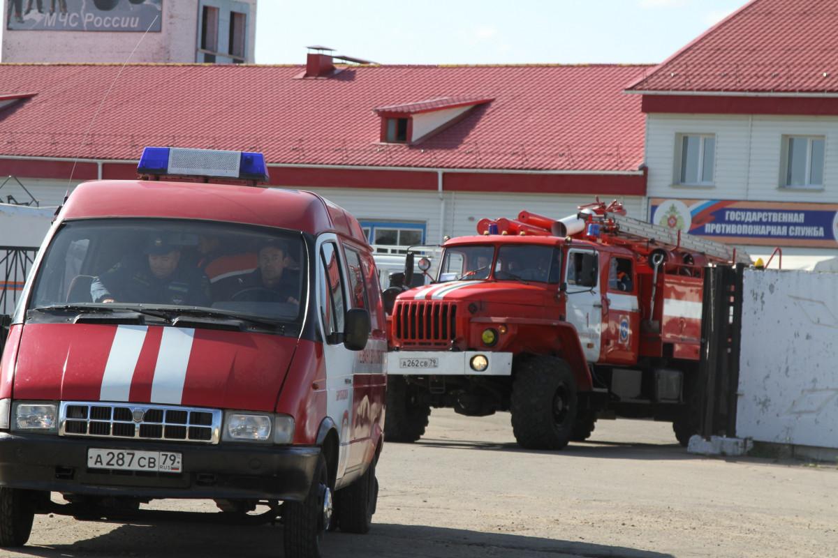 Три пожара произошло в ЕАО за минувшие выходные