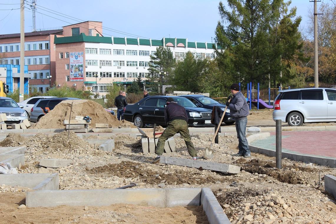 Площадка для воркаута и велосипедная дорожка появятся в Биробиджане