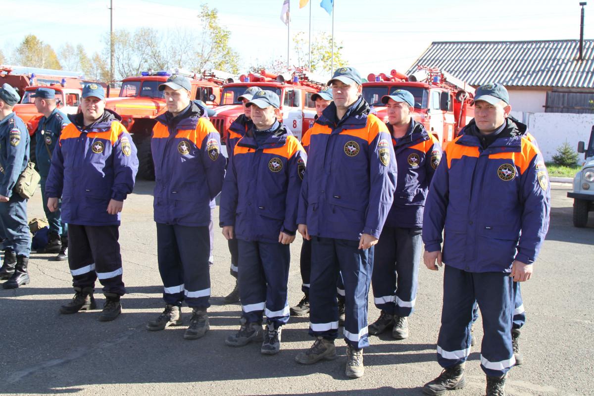 На борьбу с природными пожарами отправились в Приморье спасатели ЕАО