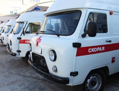 В ЕАО поступило 10 новых автомобилей скорой помощи