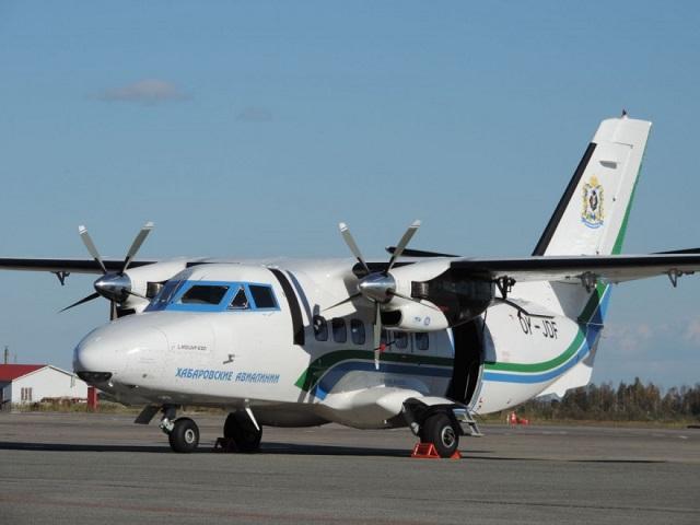 С самолетом L-410 в Хабаровском крае снова произошла внештатная ситуация
