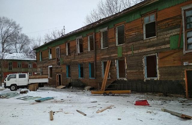 1608 биробиджанцев расселят из аварийных домов к 2024 году