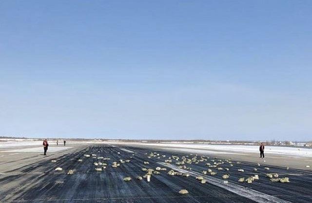 В Якутске из взлетающего самолета высыпались золотые слитки