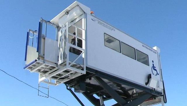 Произведенные в Еврейской автономии амбулаторные лифты работают в аэропортах Дальнего Востока