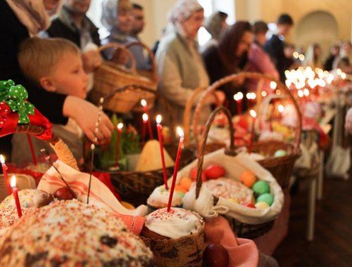 Биробиджанская Епархия приглашает всех желающих на освящение пасхальных куличей