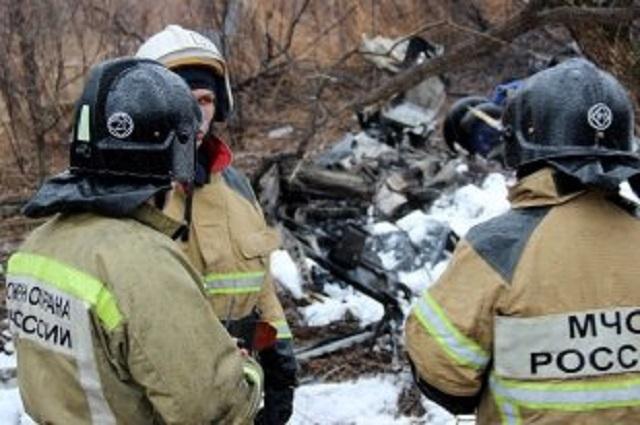 Названа причина крушения вертолета Ми-8 в Хабаровске