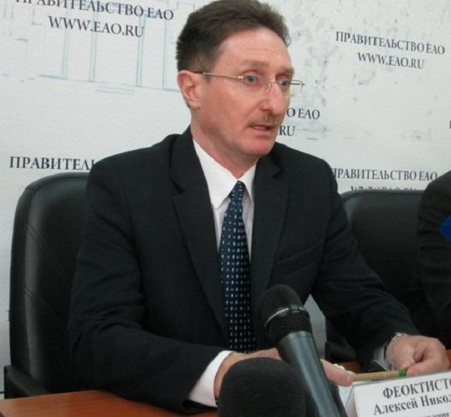 Алексей Феоктистов временно отстранен от должности