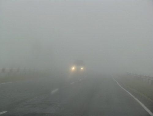 Дымовое облако на трассе стало причиной двух ДТП
