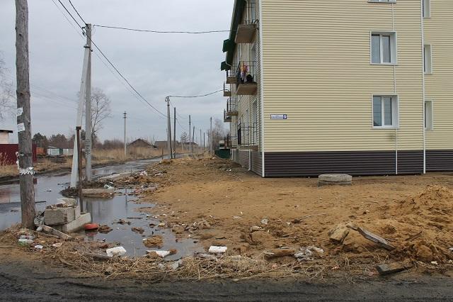 Разрушающаяся жилая новостройка привлекла внимание активистов ОНФ