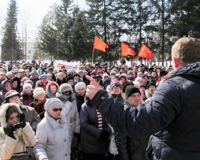 Череду митингов готовит трудовой коллектив предприятия Ивана Проходцева в Биробиджане