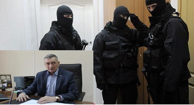 Обыски в управлении ЖКХ мэрии города были связаны с делом Олега Костюка