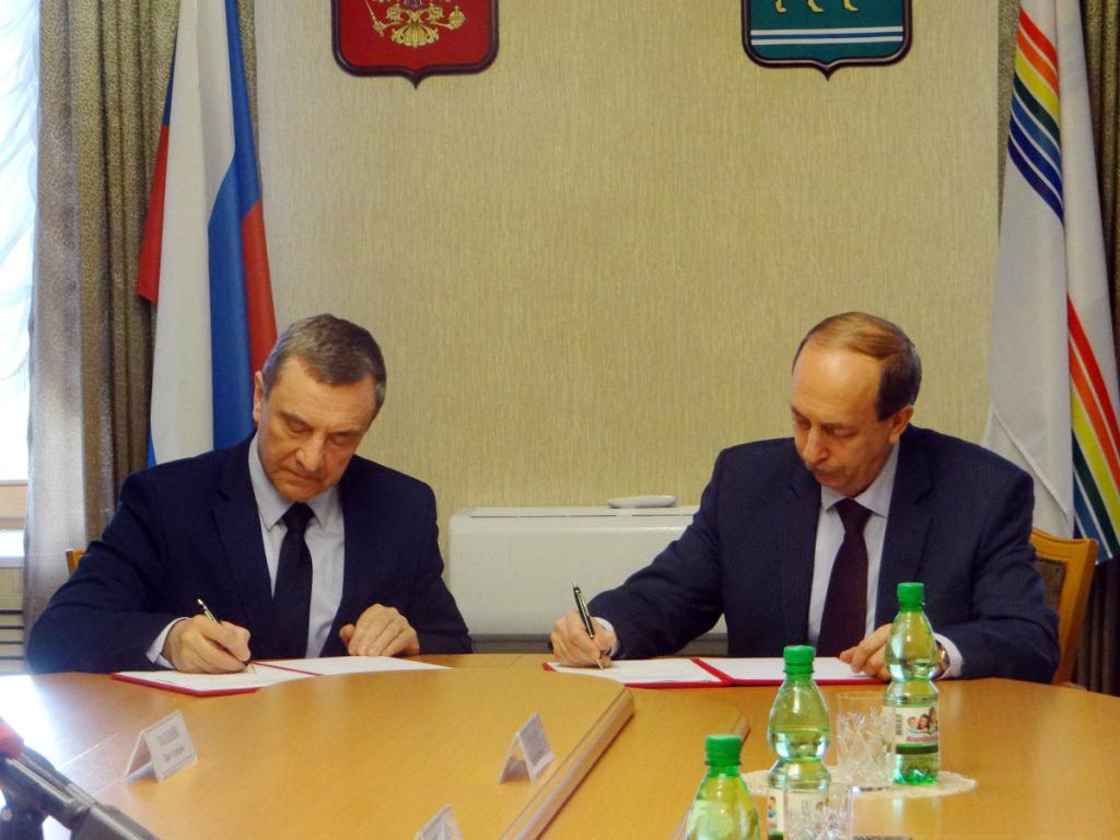 Правительство ЕАО и ДОСААФ России заключили соглашение о сотрудничестве