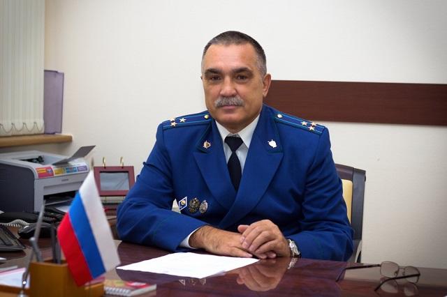 Минигораев Владимир назначен на должность заместителя прокурора области