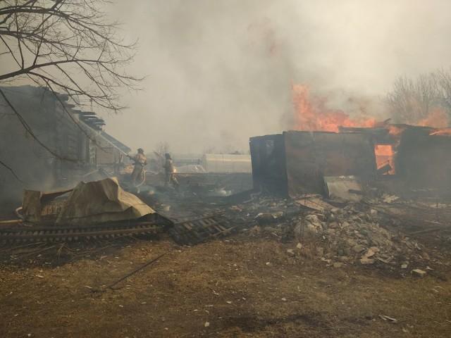 Халатность сотрудников мэрии привела к пожару в п. Кирпичики