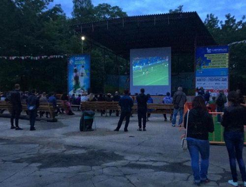 Биробиджанские фанаты ликуют: сборная России обыграла Египет