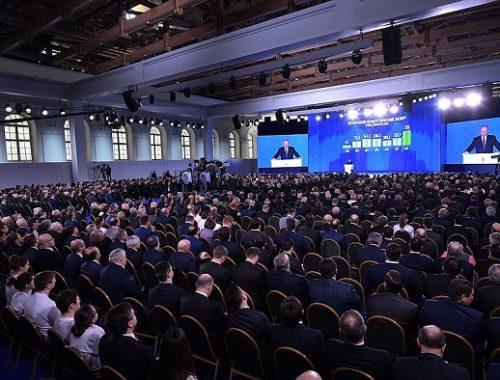 Путин может обратиться с посланием к Федеральному Собранию второй раз за год