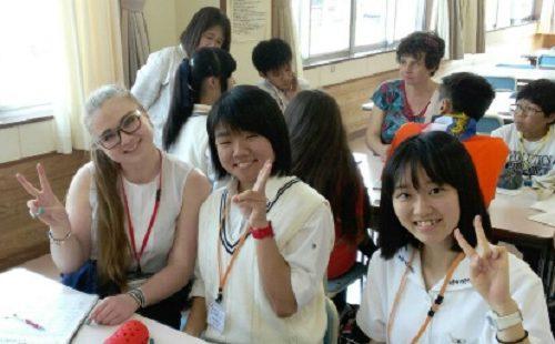 16 школьников из Японии проведут один день в биробиджанских семьях