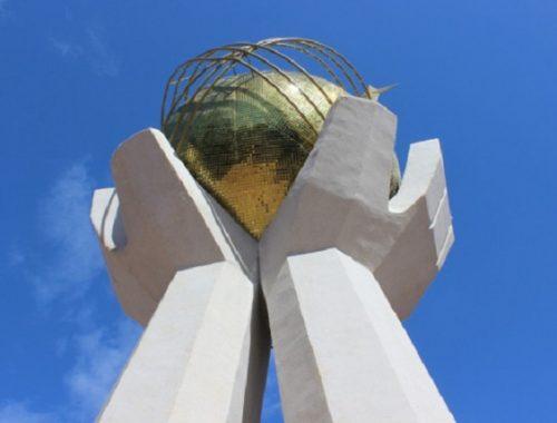 В Биробиджане начались работы по реставрации «Дружбы народов»