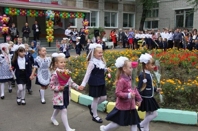 Парад первоклассников пройдет по улицам Биробиджана