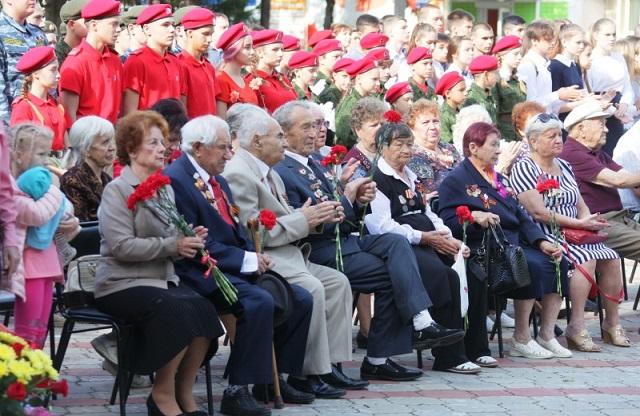 В Биробиджане отмечают 73-ю годовщину окончания Второй мировой войны