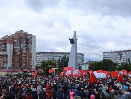 Протесты не утихают: тысячи россиян приняли участие в митингах против пенсионной реформы