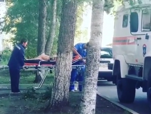 Одинокой пенсионерке понадобилась помощь спасателей