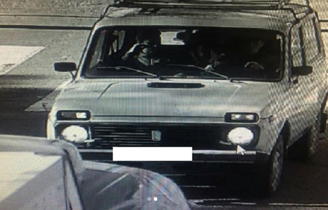 Угнанная в Смидовичском районе «Нива» попала в объектив камер