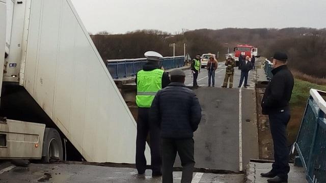 На Дальнем Востоке обрушился еще один мост