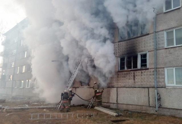 Душераздирающими воспоминаниями поделилась пострадавшая при взрыве газа в п. Приамурском ЕАО