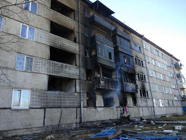 Пострадавший от взрыва газа дом в п. Приамурский подлежит восстановлению