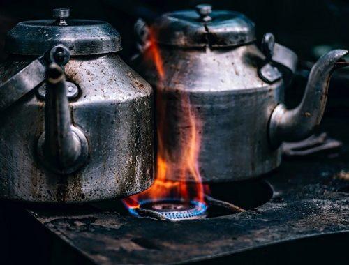 Россиянин спалил полтора миллиона рублей в чайнике